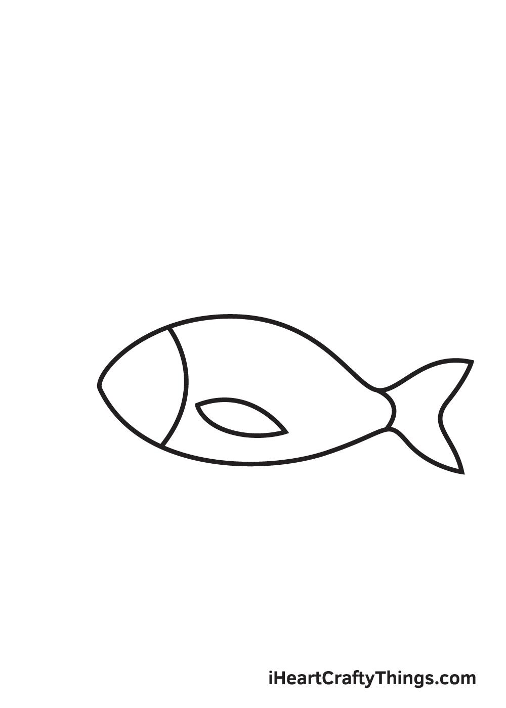 fish drawing - step 4