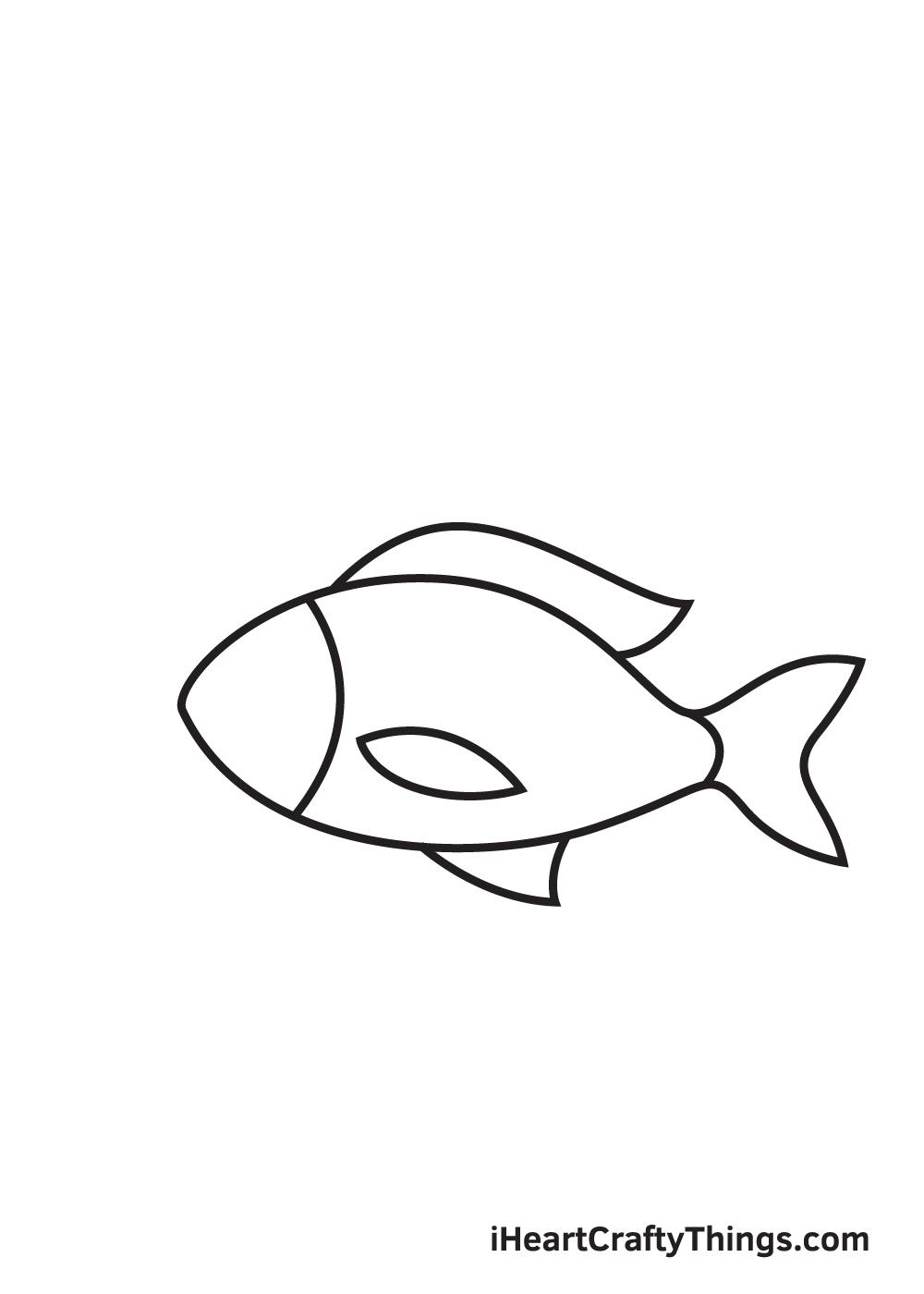 fish drawing - step 5