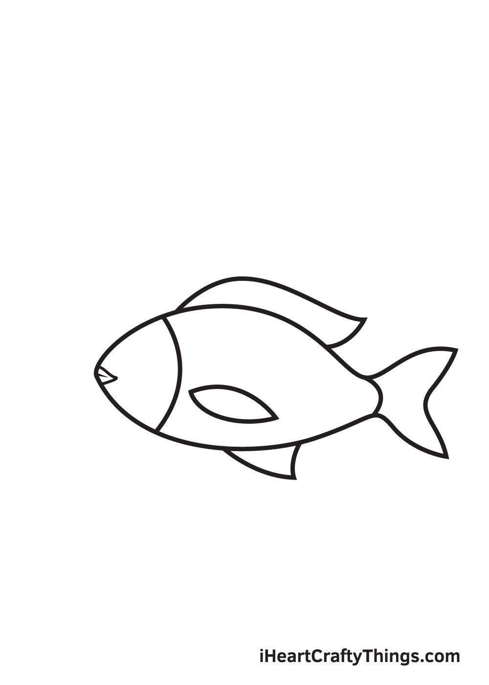 fish drawing - step 6