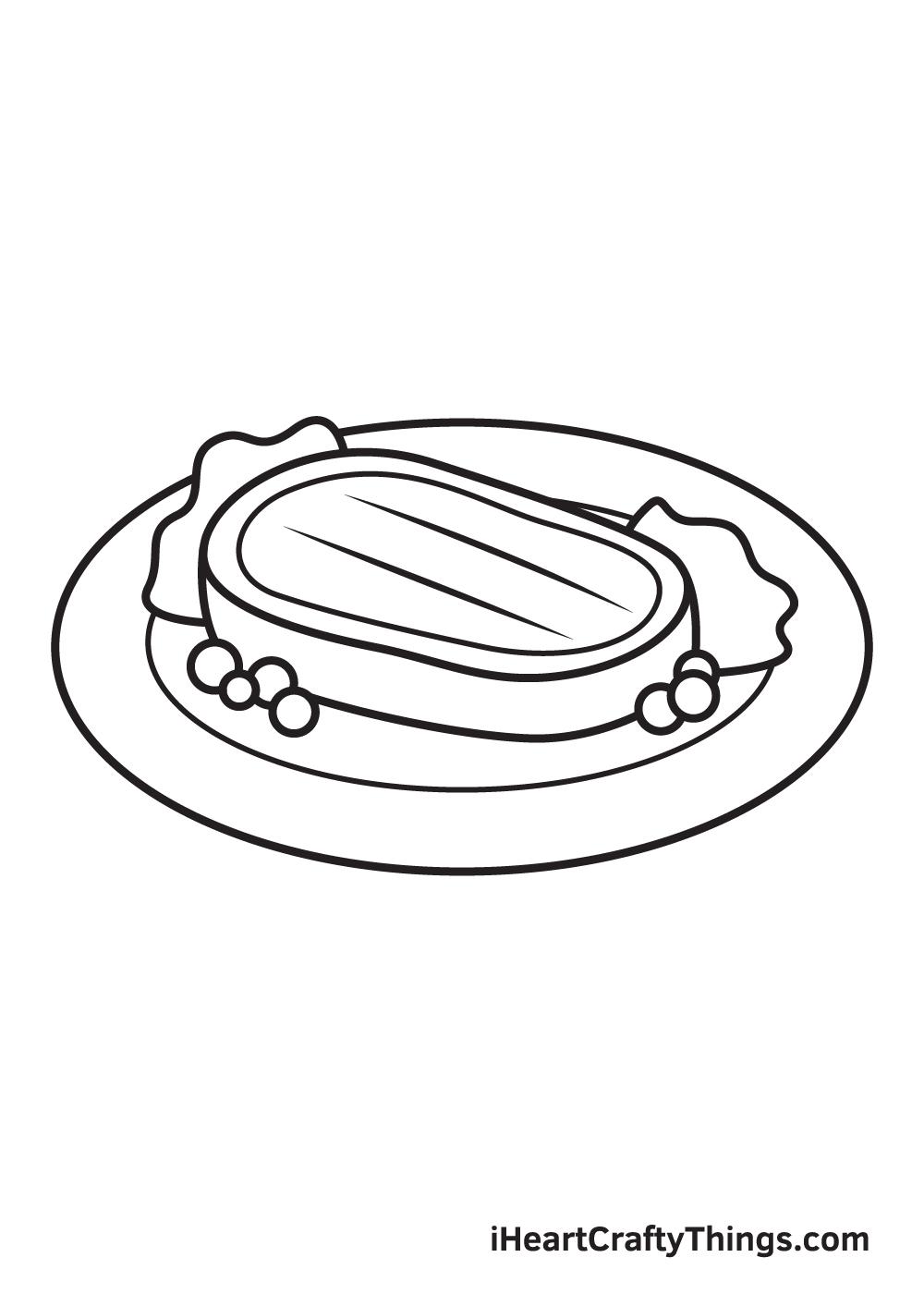 Food Drawing – Step 8