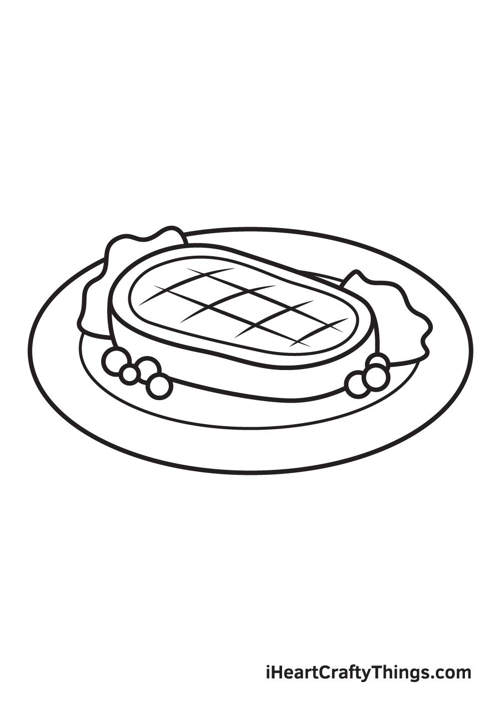 Food Drawing – Step 9