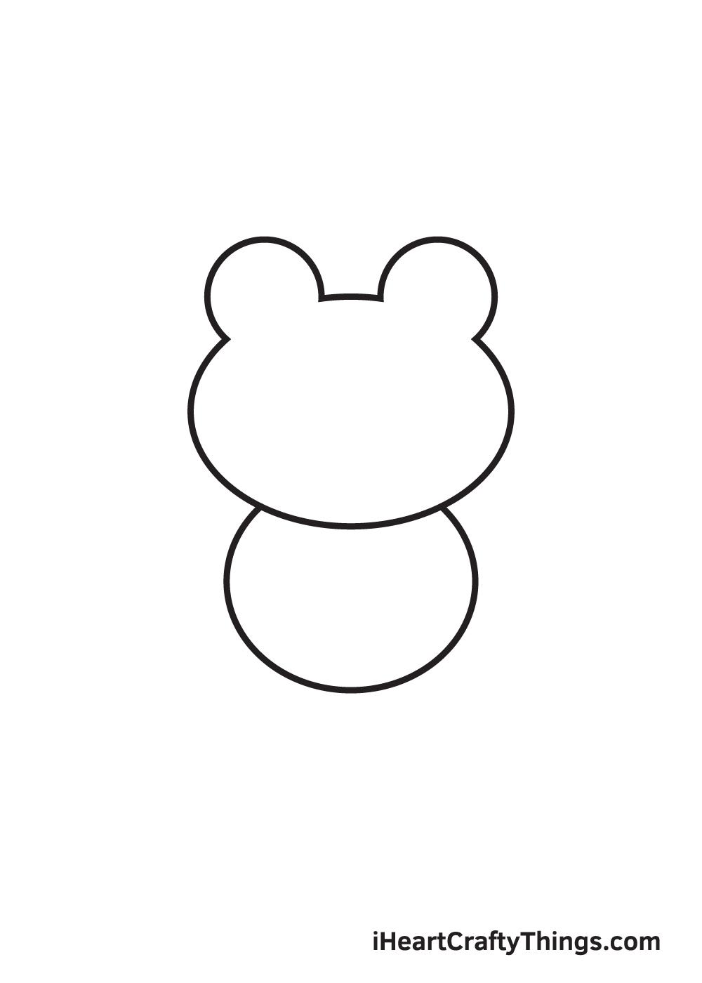 Frog Drawing – Step 2