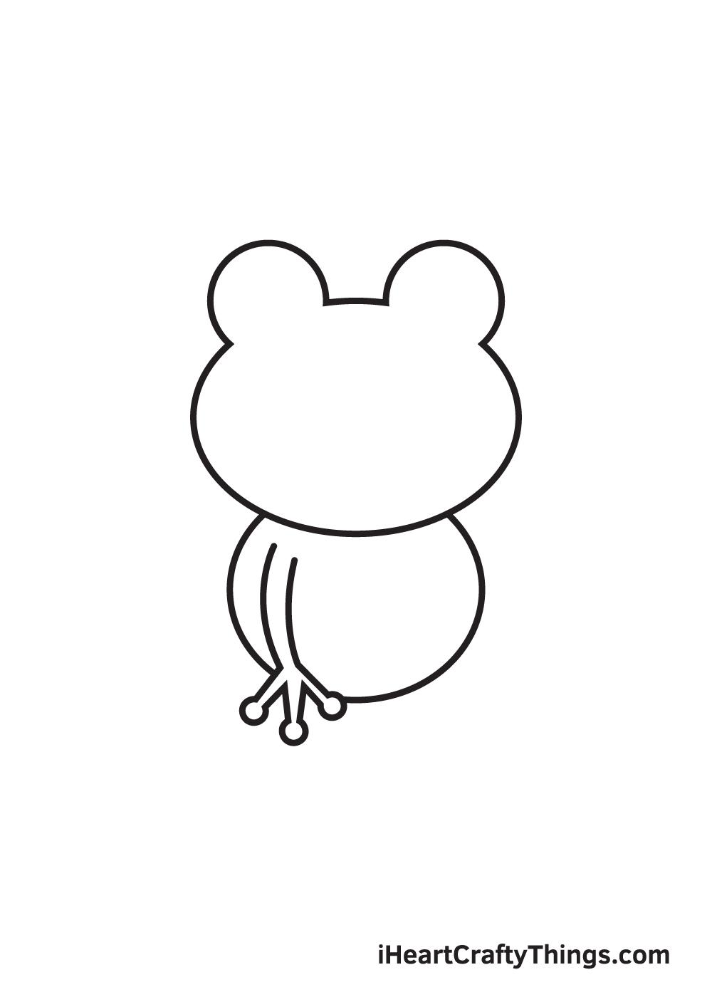 Vẽ ếch - Bước 3