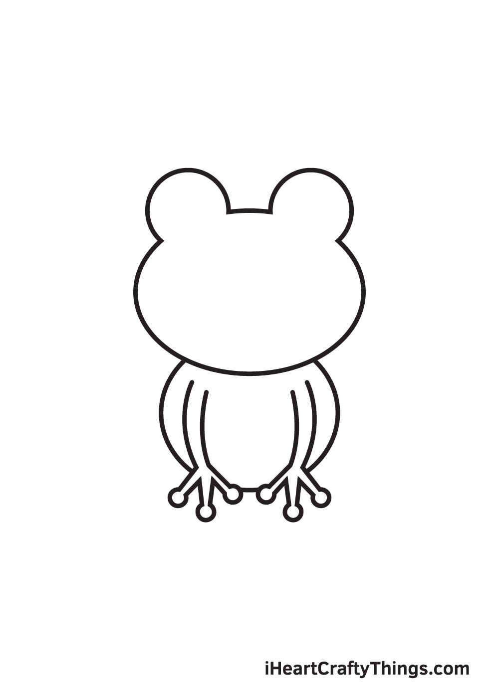 Frog Drawing – Step 4