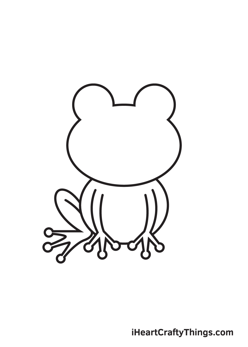 Frog Drawing – Step 5