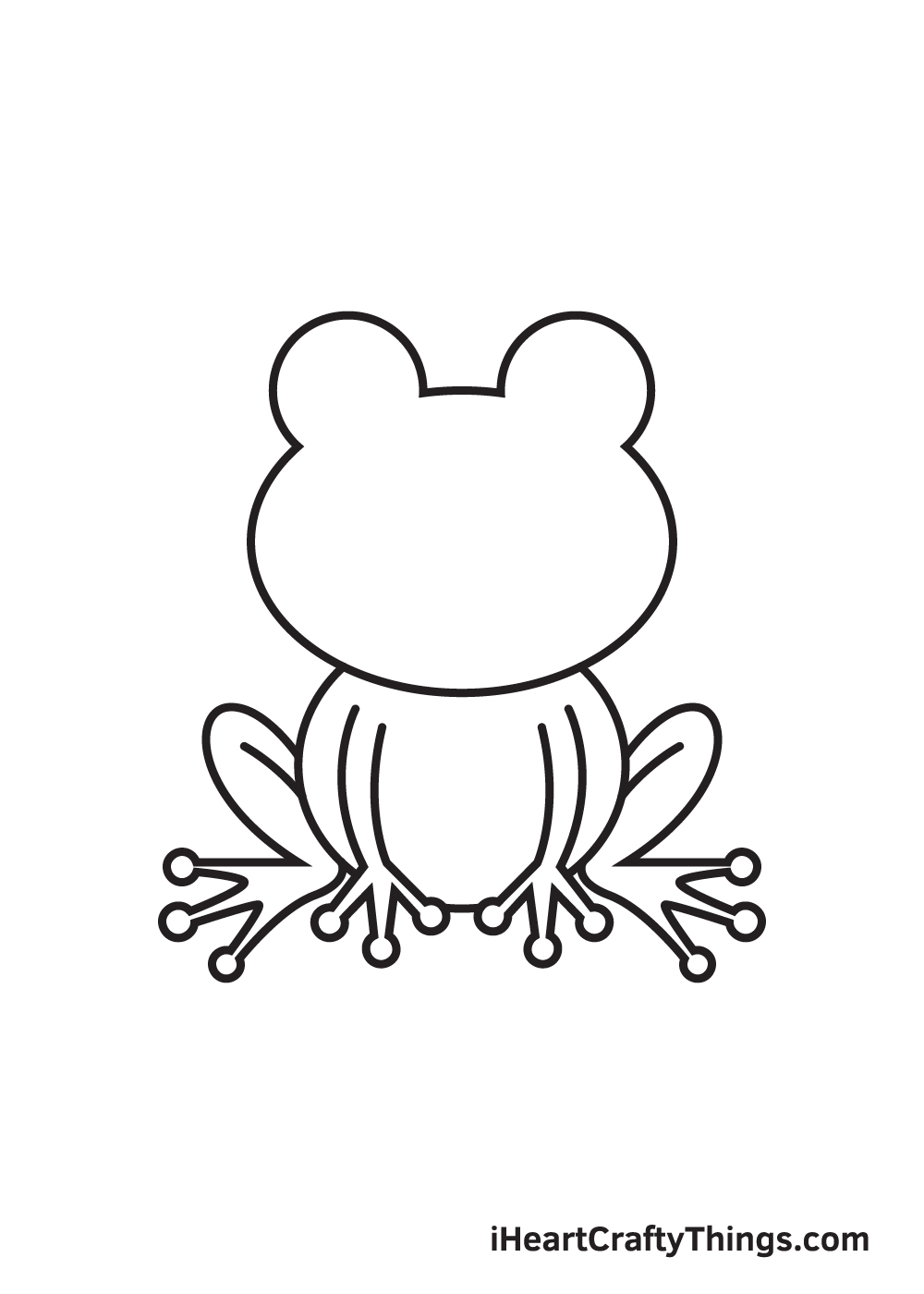 Frog Drawing – Step 6