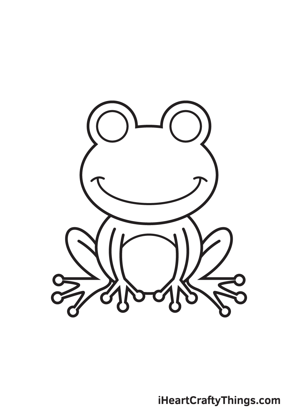 Frog Drawing – Step 8