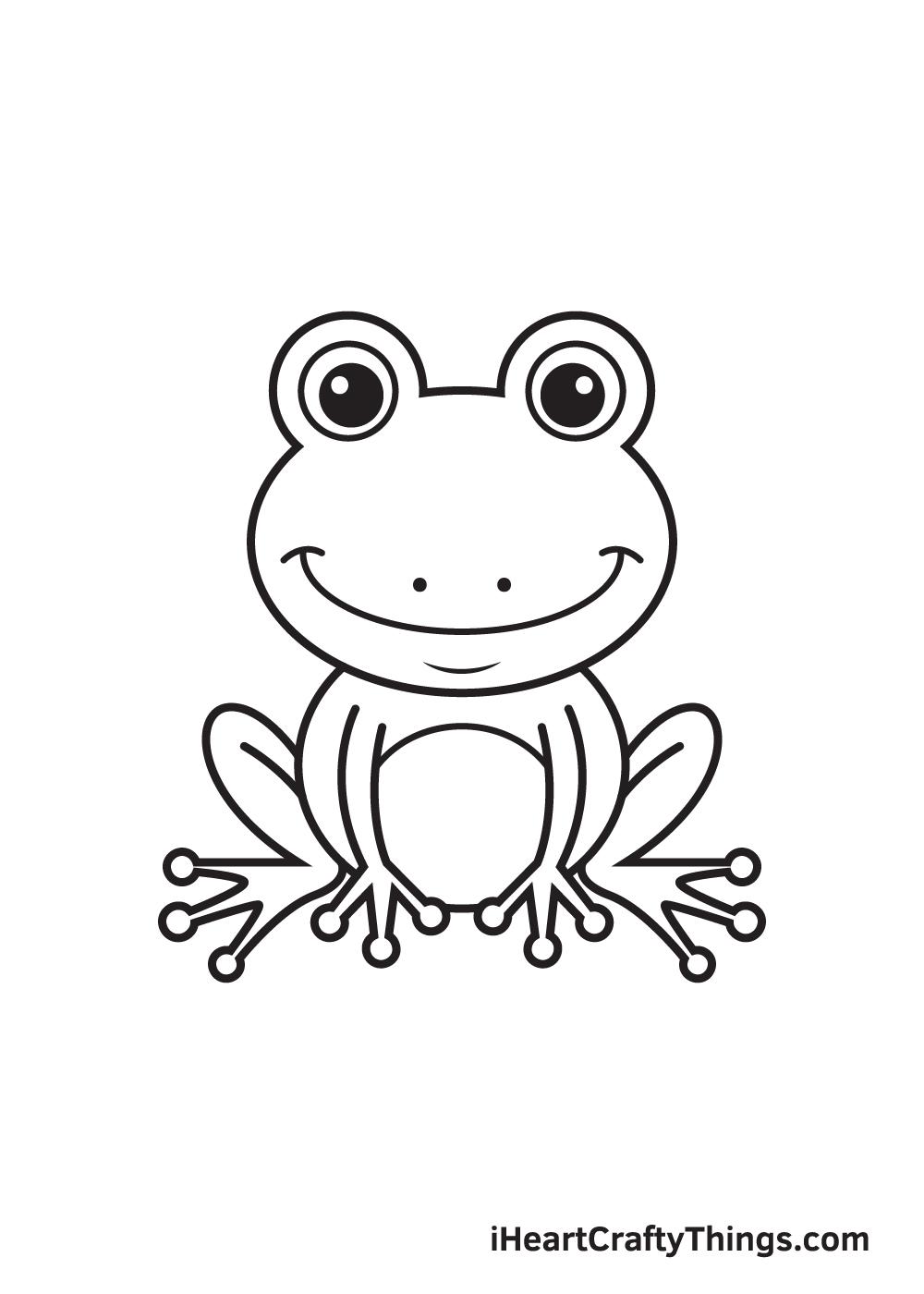 Vẽ ếch - Bước 9