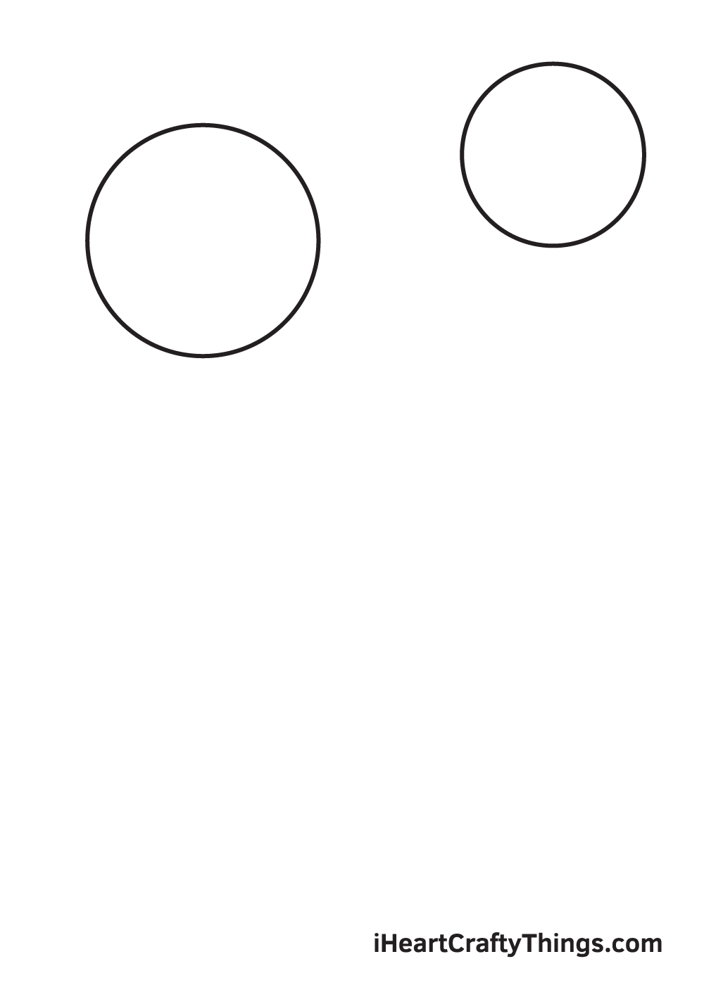 galaxy drawing - step 2
