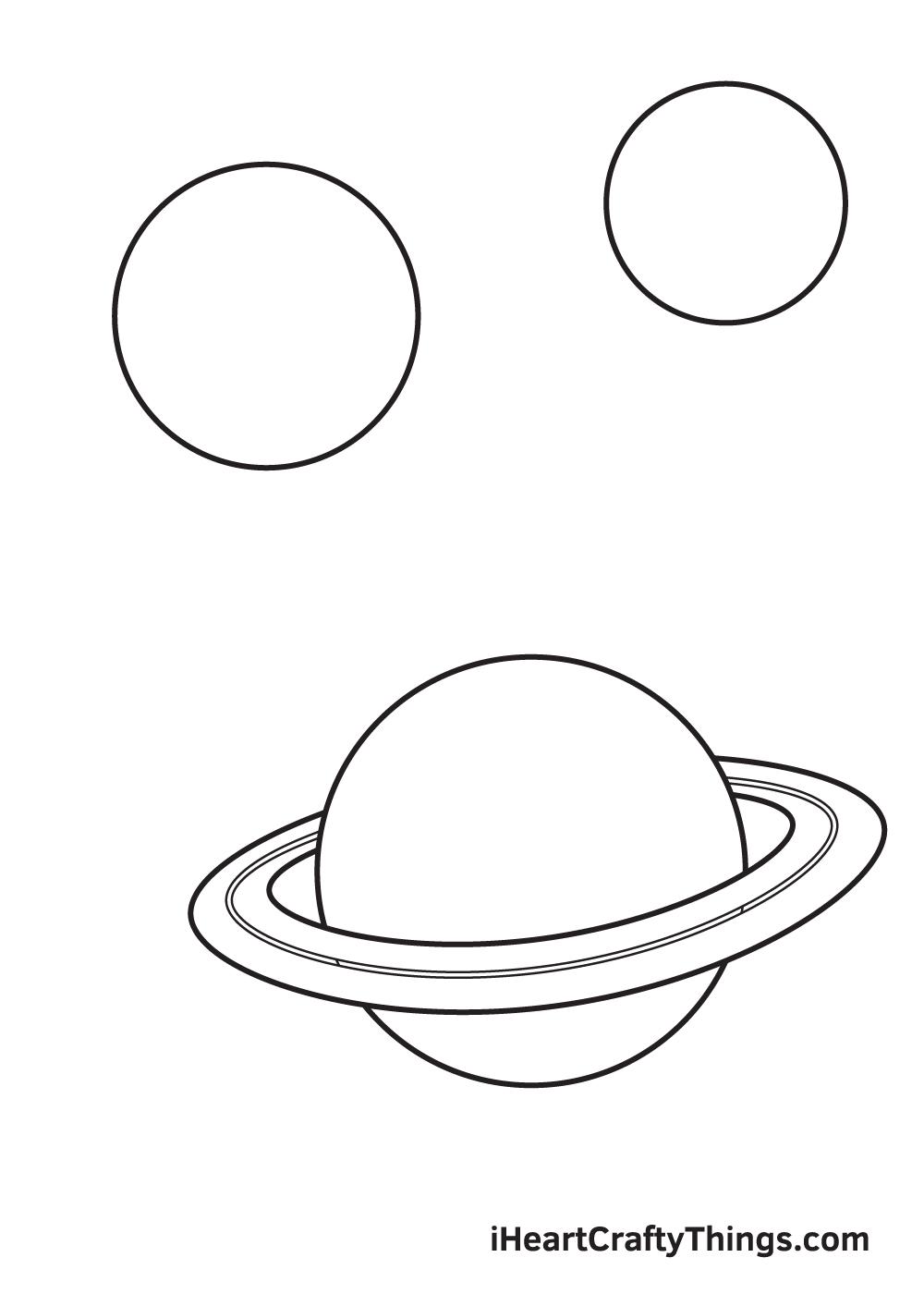 galaxy drawing - step 4