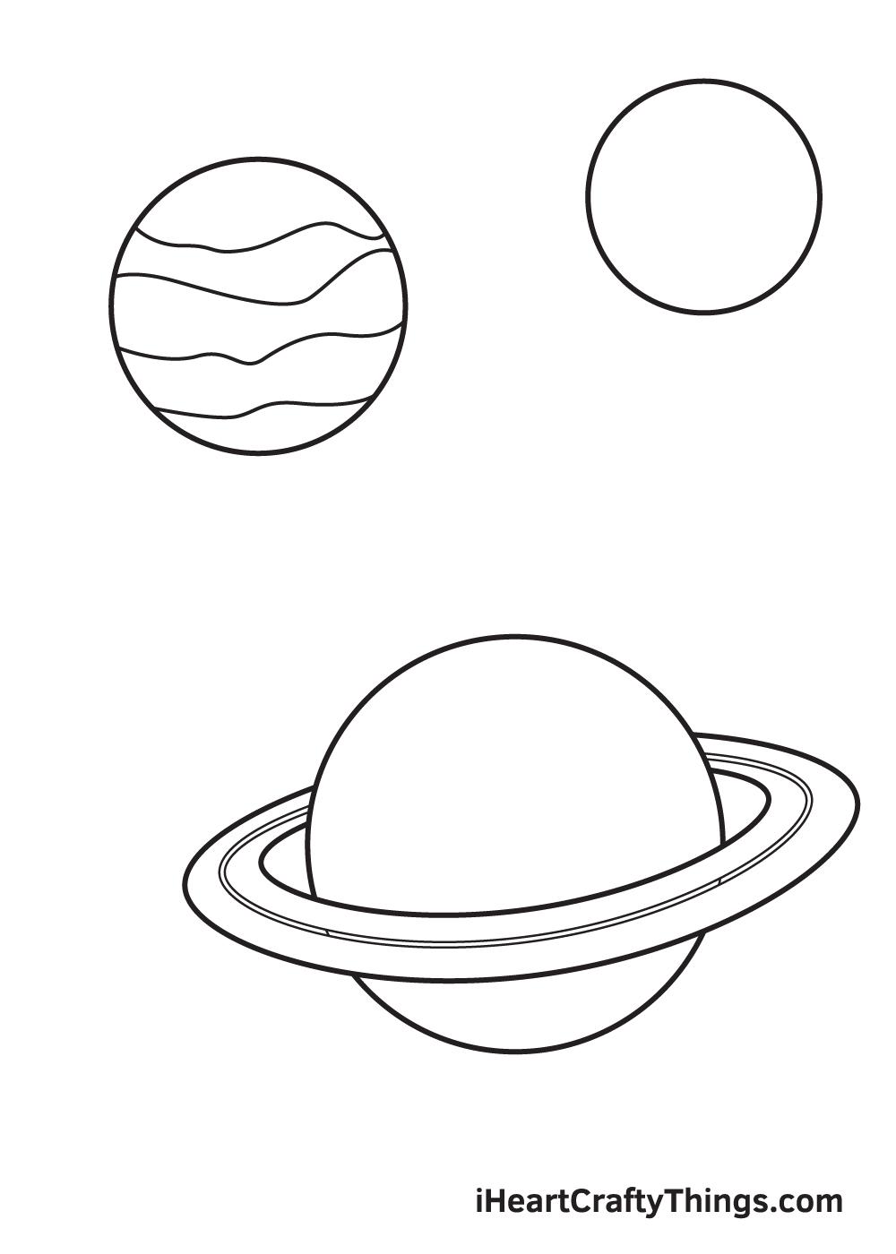 galaxy drawing - step 5