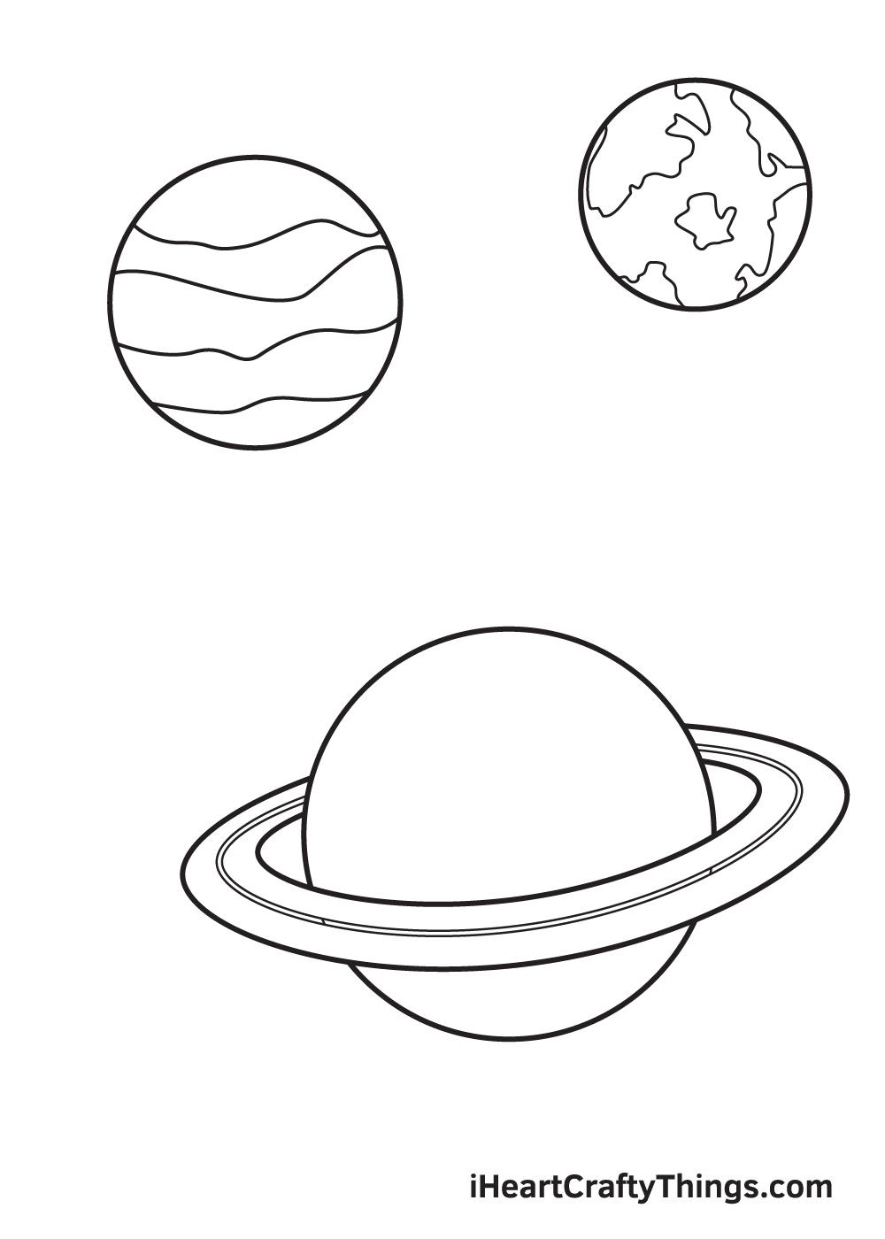 galaxy drawing - step 6