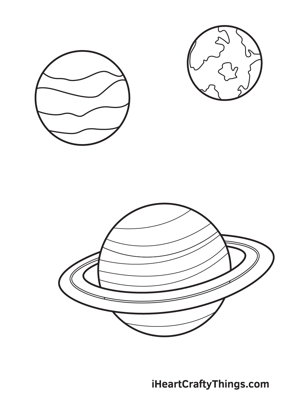 galaxy drawing - step 7