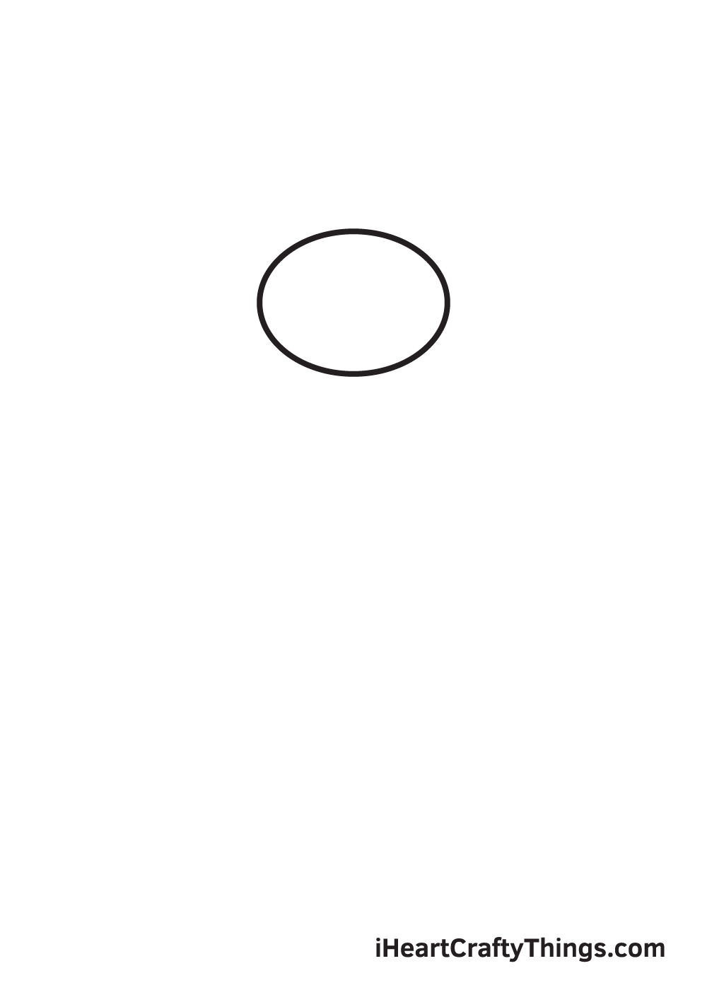 gorilla drawing - step 1