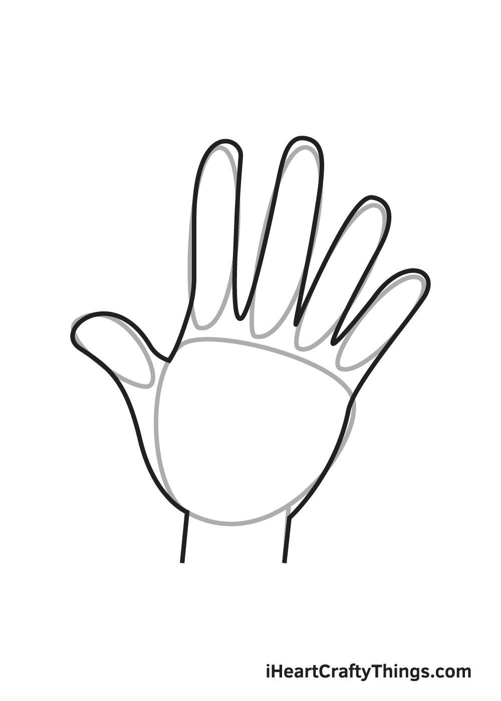 Hand Drawing – Step 8