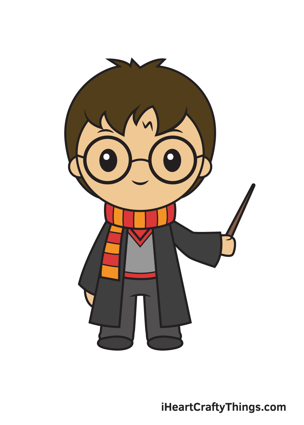 Harry Potter Drawing – 9 Steps