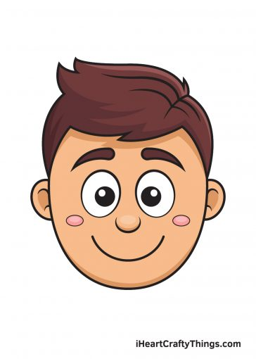 How to Draw Cartoon Face – Image