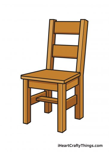 How to Draw Chair Image