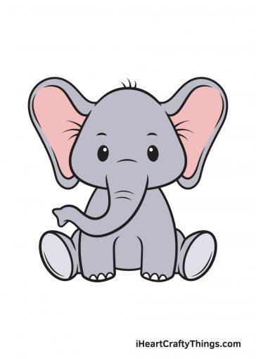 How to Draw Elephant Image