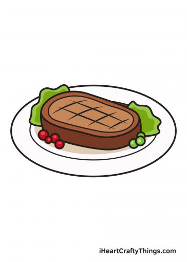 How to Draw Food Image