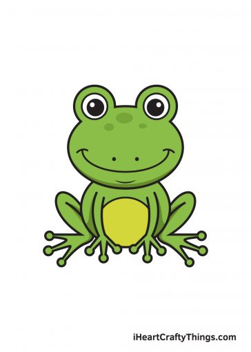 How to Draw Frog Image