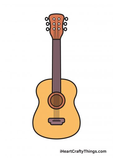How to Draw Guitar Image
