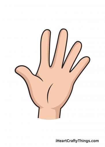 How to Draw Hand Image
