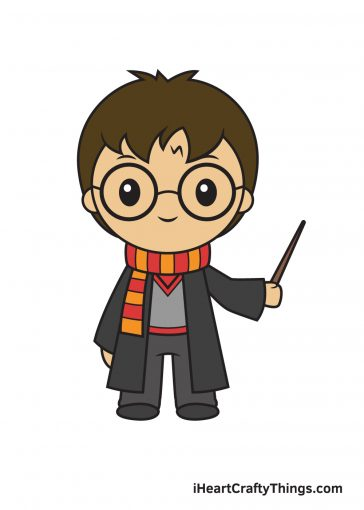 How to Draw Harry Potter Image