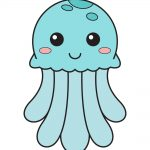 how to draw jellyfish image