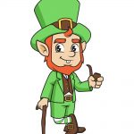 How to Draw Leprechaun Image
