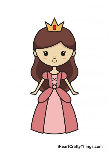 How to Draw Princess Image