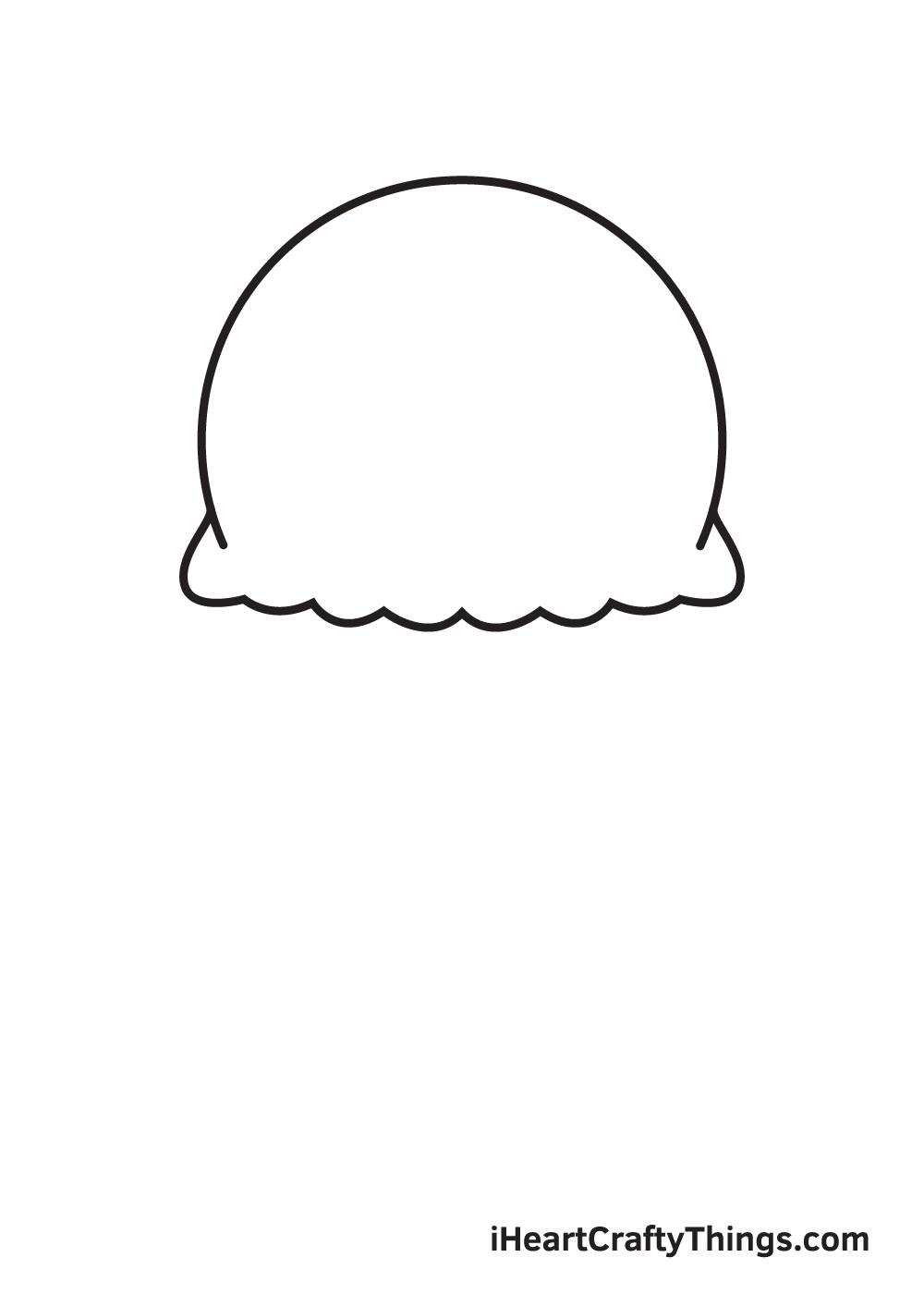 jellyfish drawing step 2