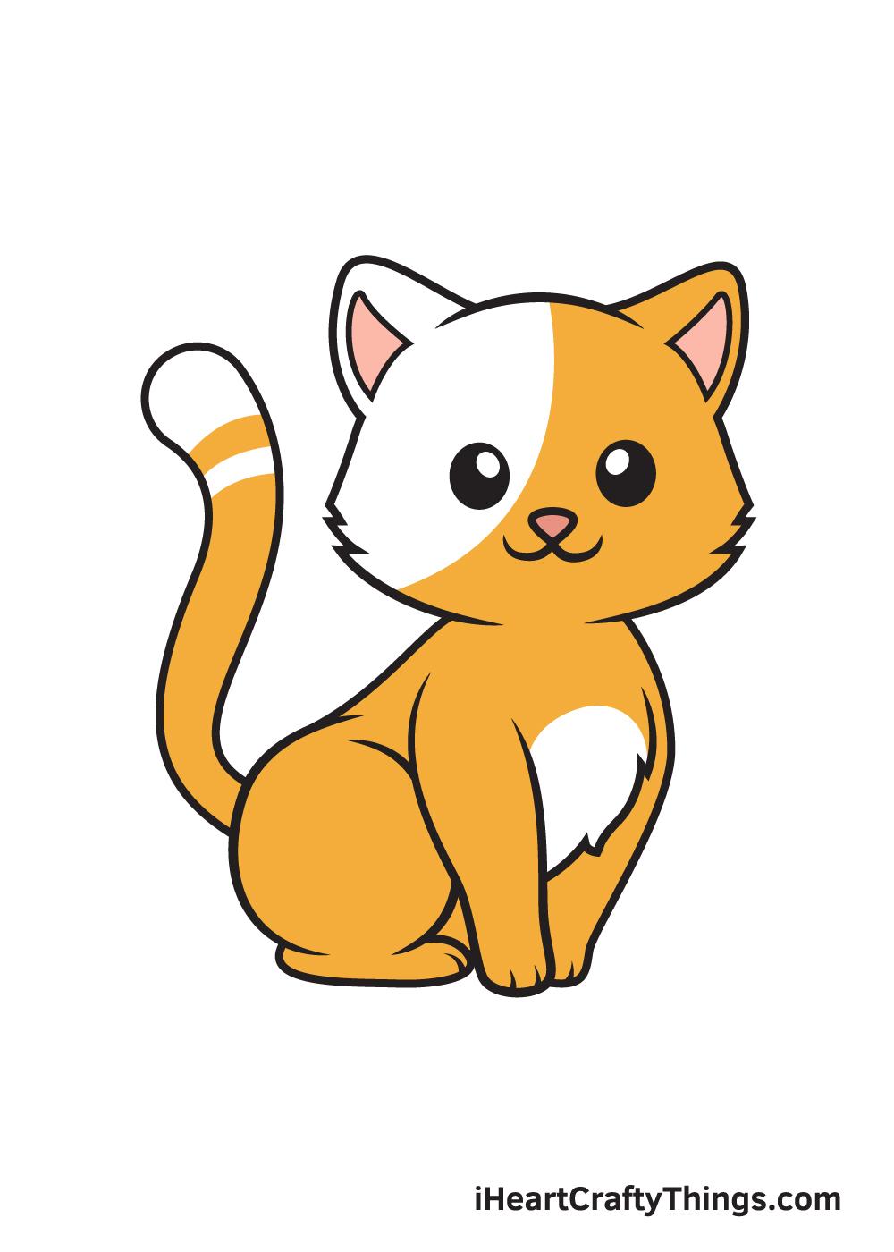 Kitten Drawing – 9 Steps