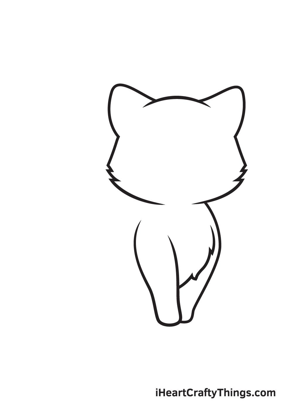 Kitten Drawing – Step 3