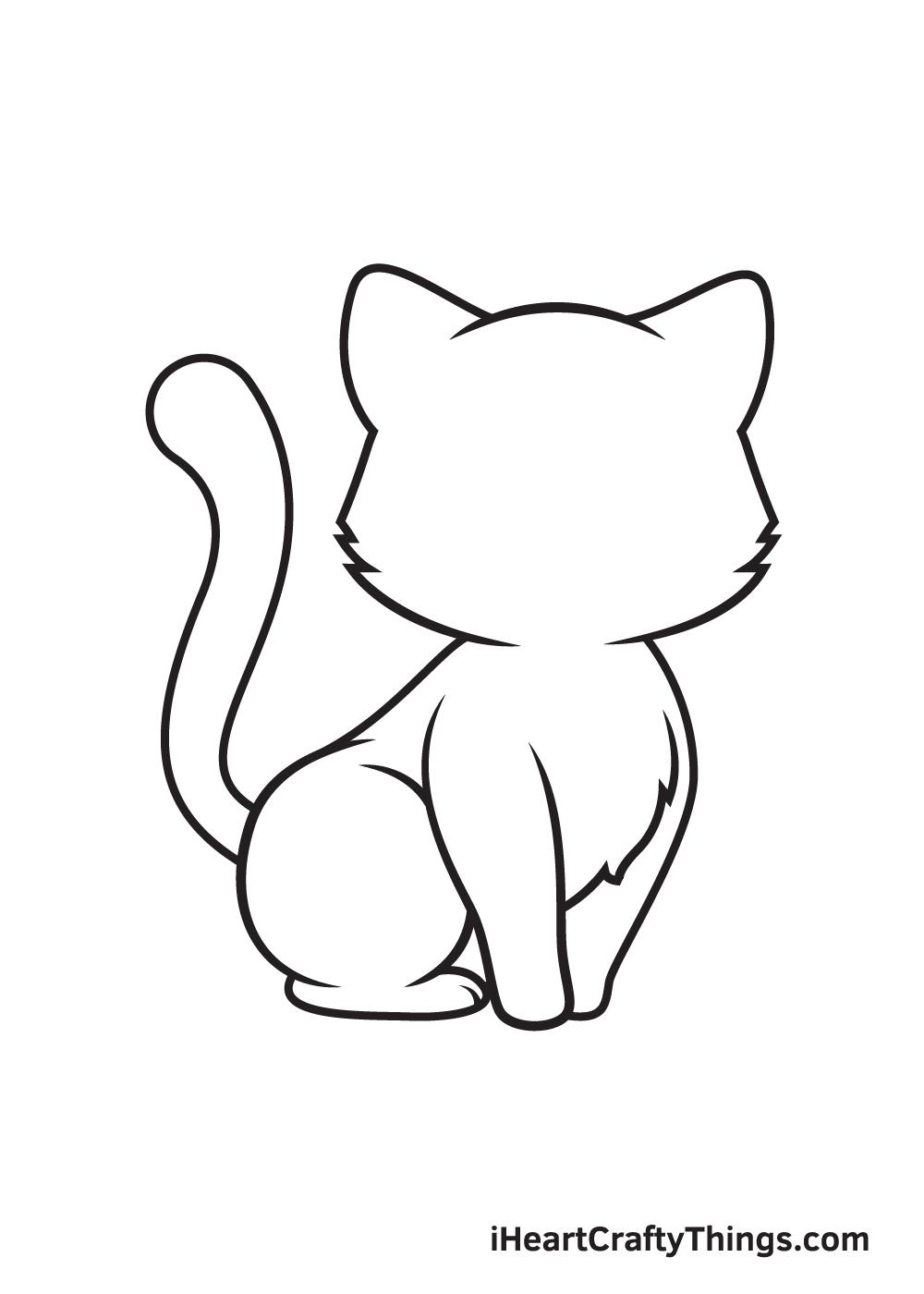 Kitten Drawing – Step 6