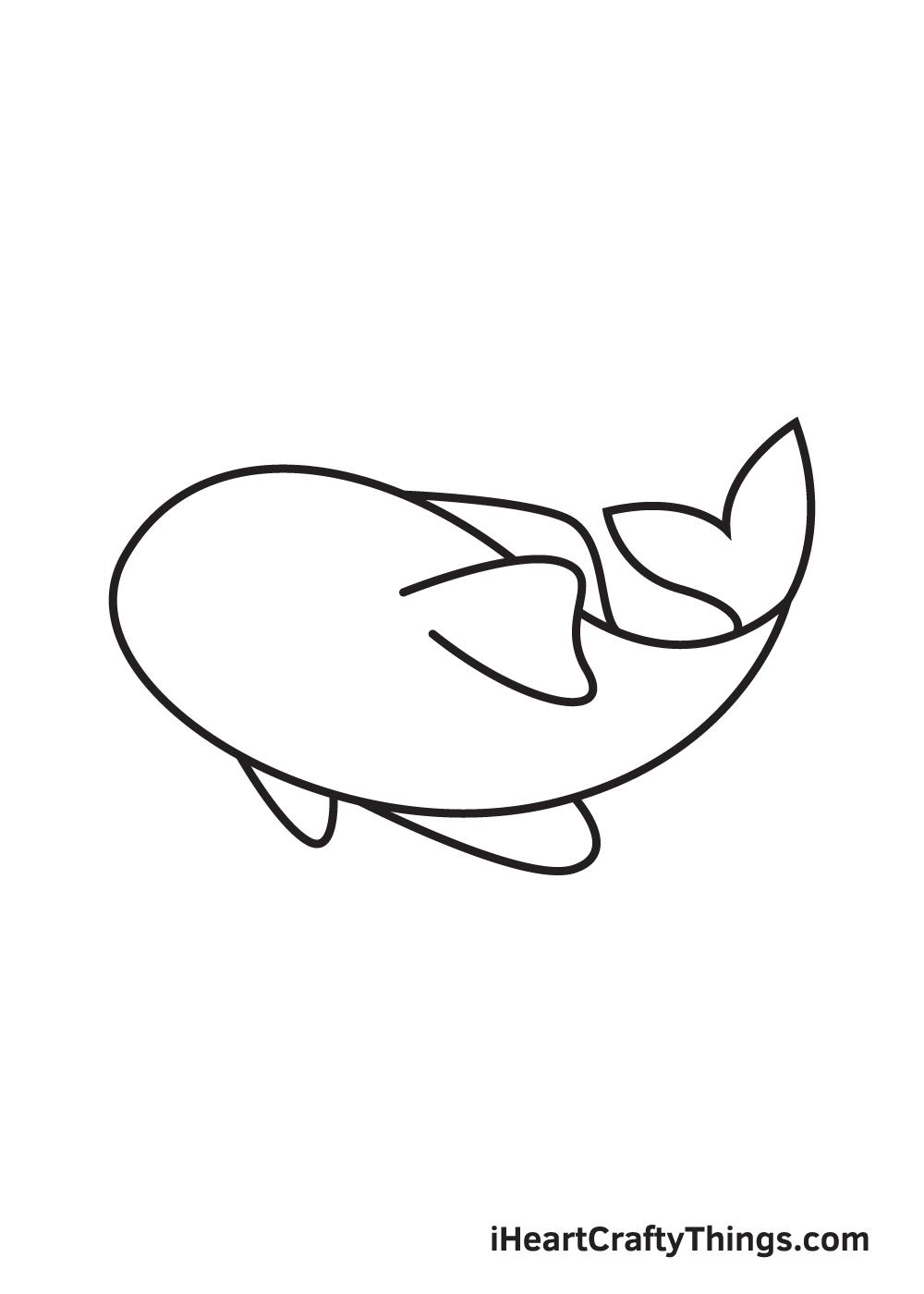 koi fish drawing step 5
