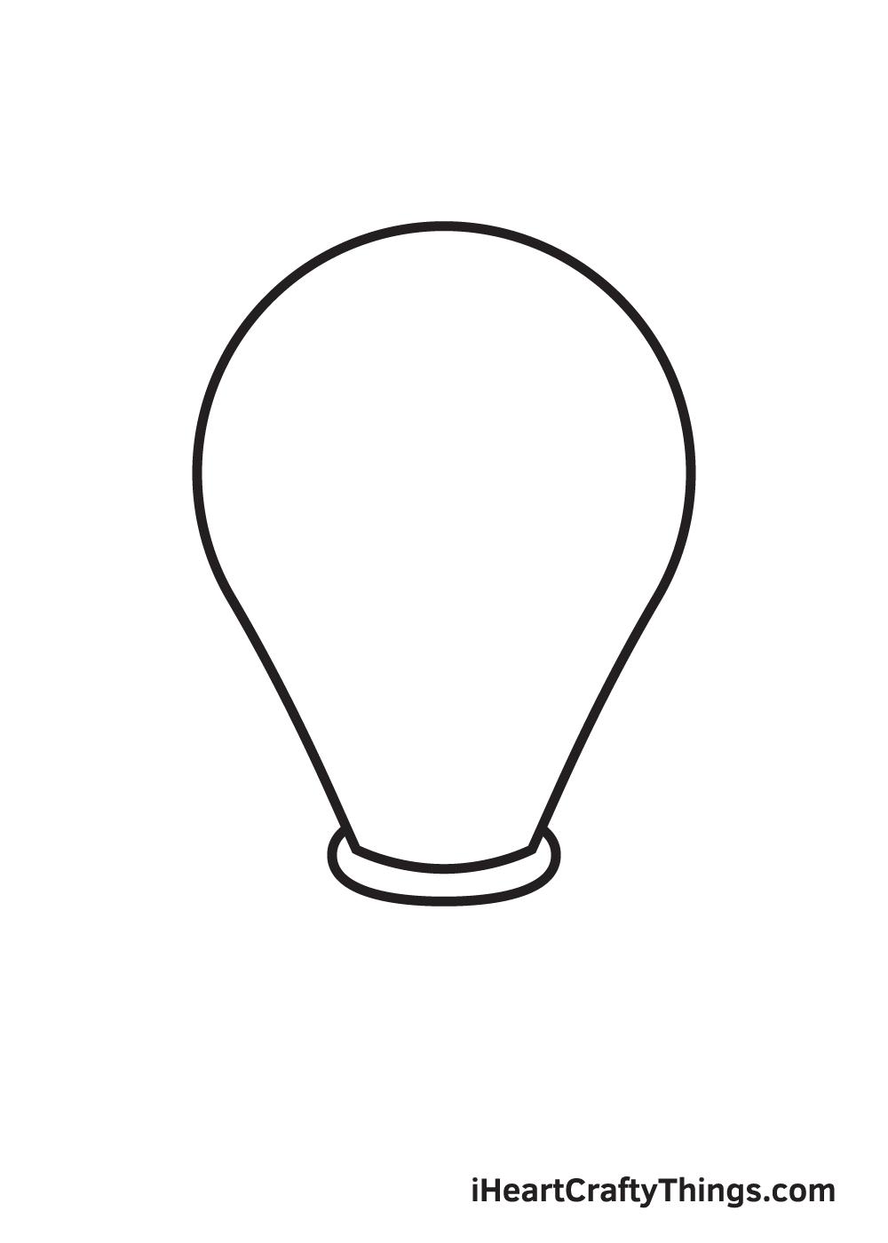 light bulb drawing step 4