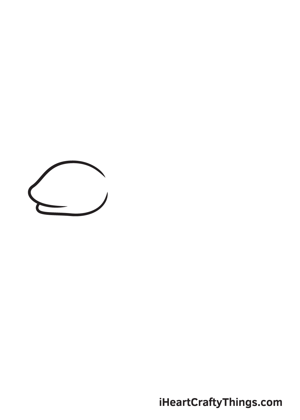 lizard drawing step 2