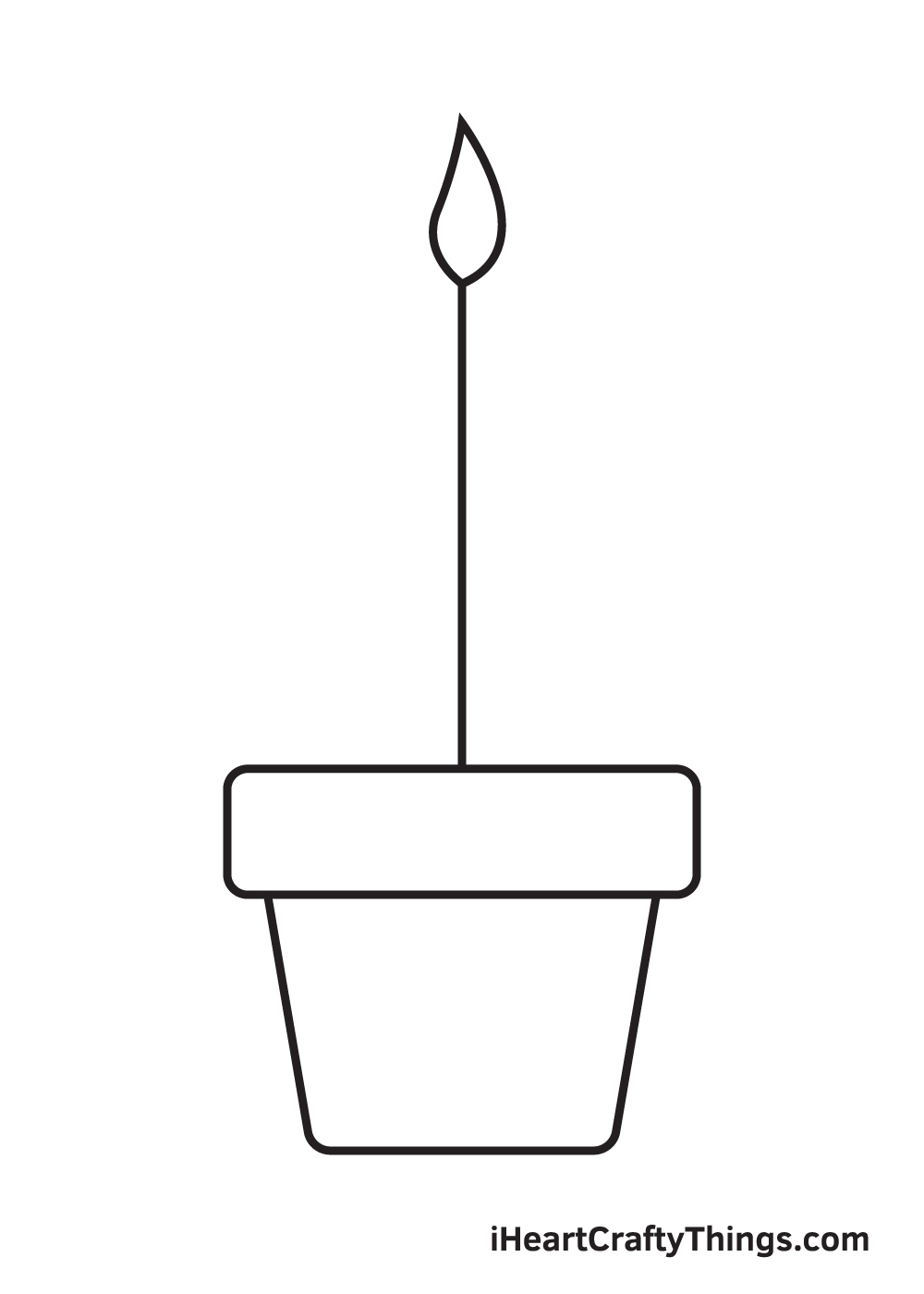 Plant Drawing – Step 3
