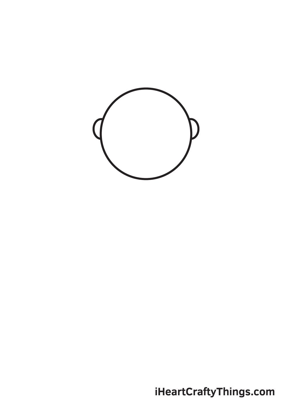 Santa Claus Drawing – Step 2