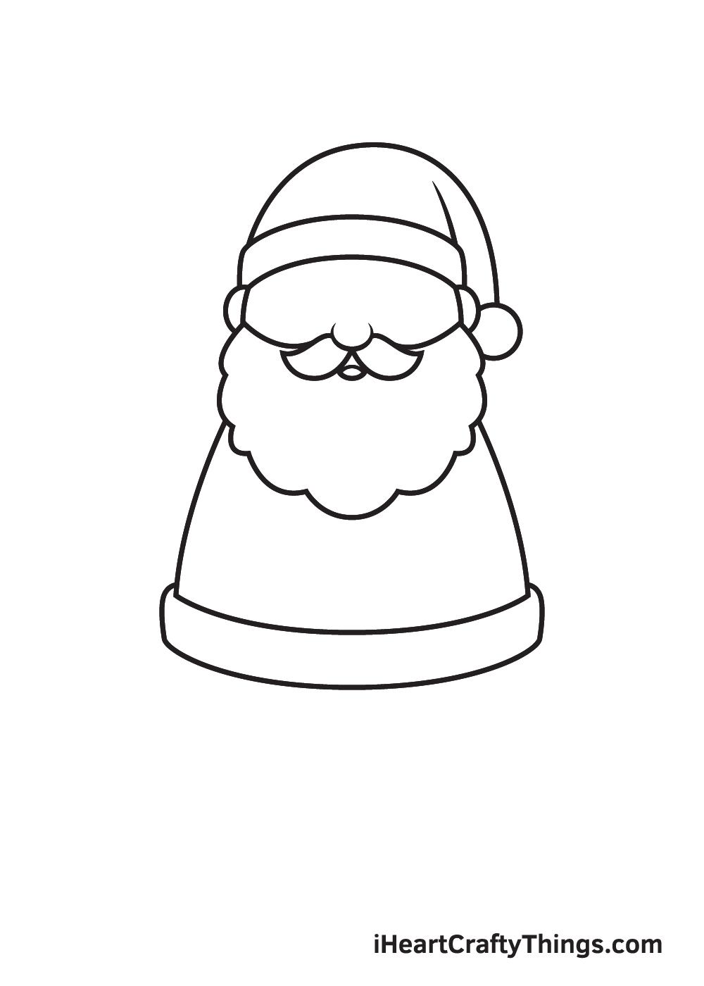 Santa Claus Drawing – Step 5