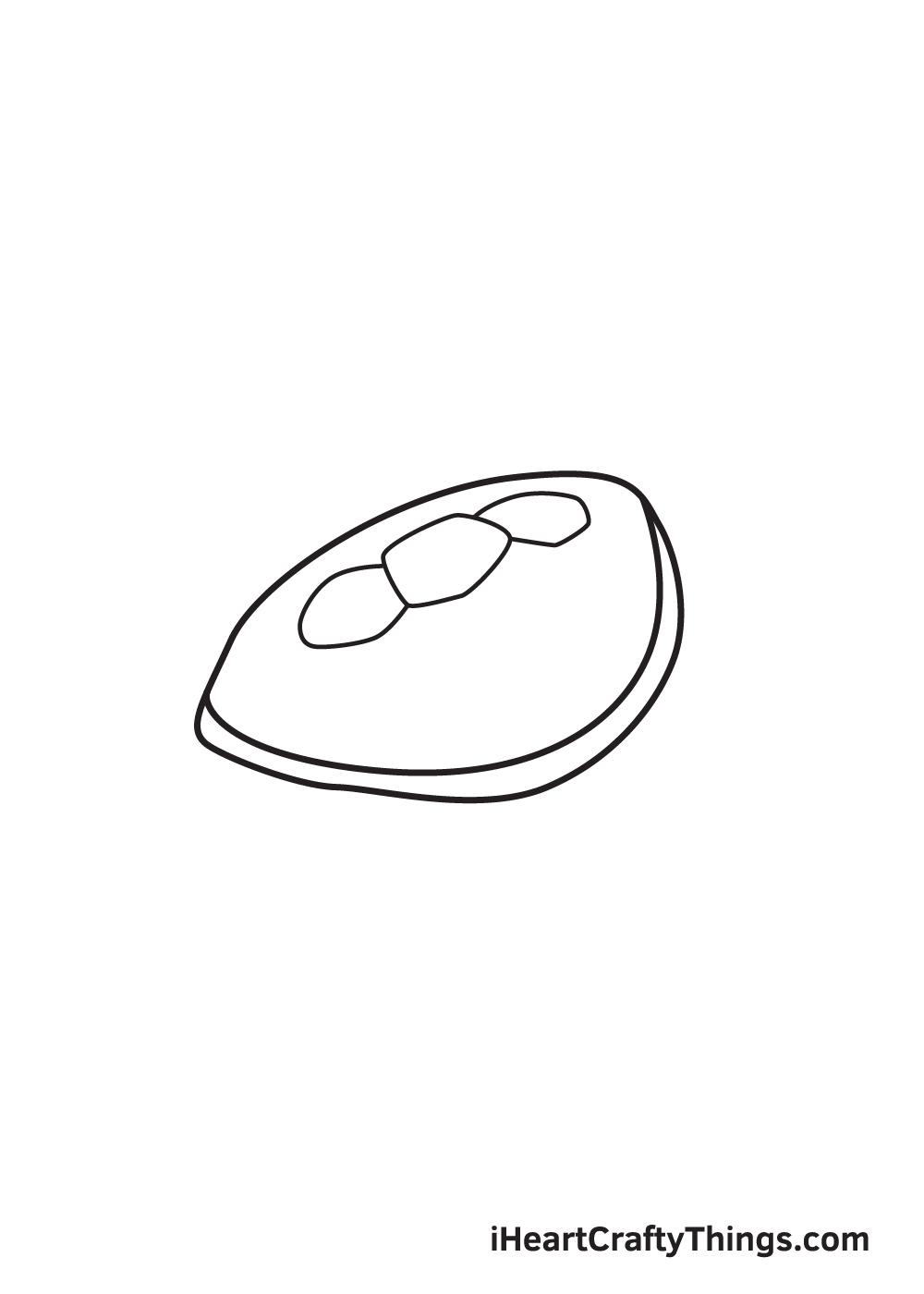Vẽ rùa biển - Bước 3