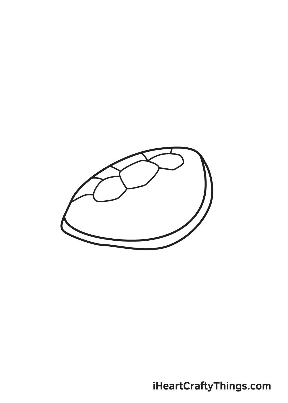 Vẽ rùa biển - Bước 4