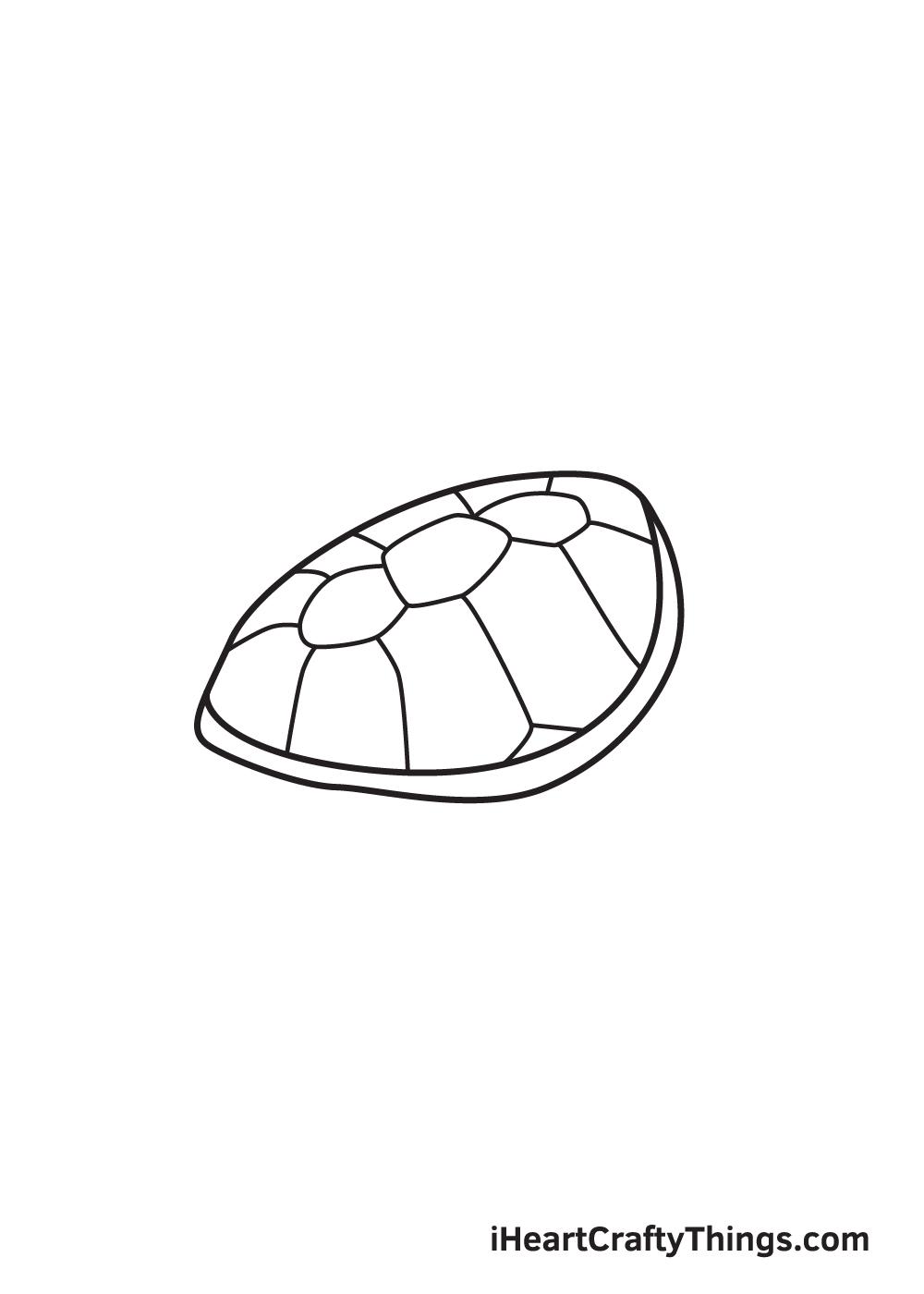 Vẽ rùa biển - Bước 5
