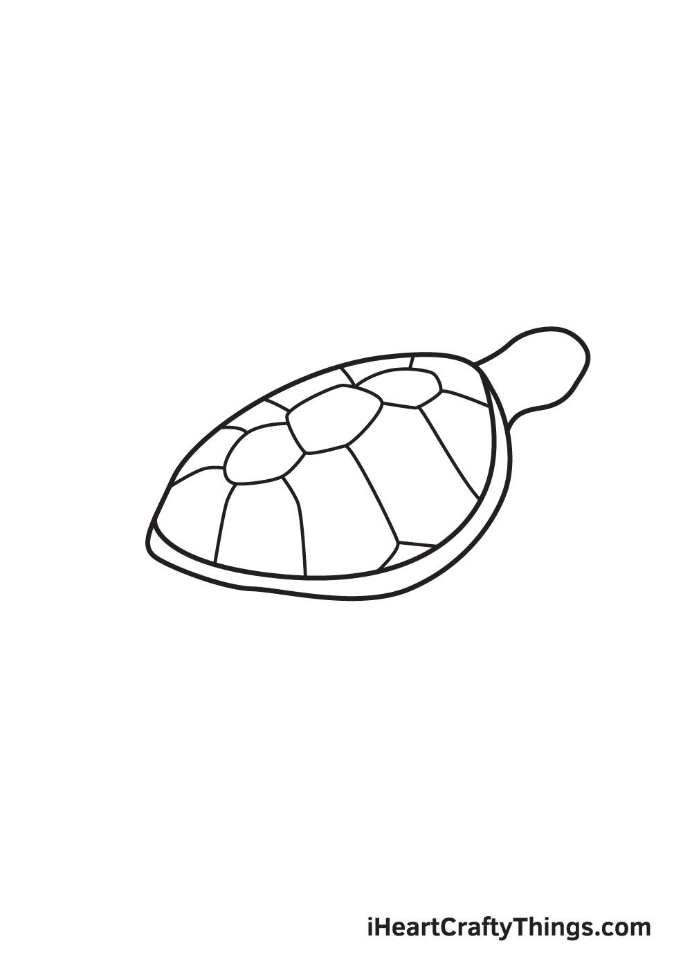 Vẽ rùa biển - Bước 6