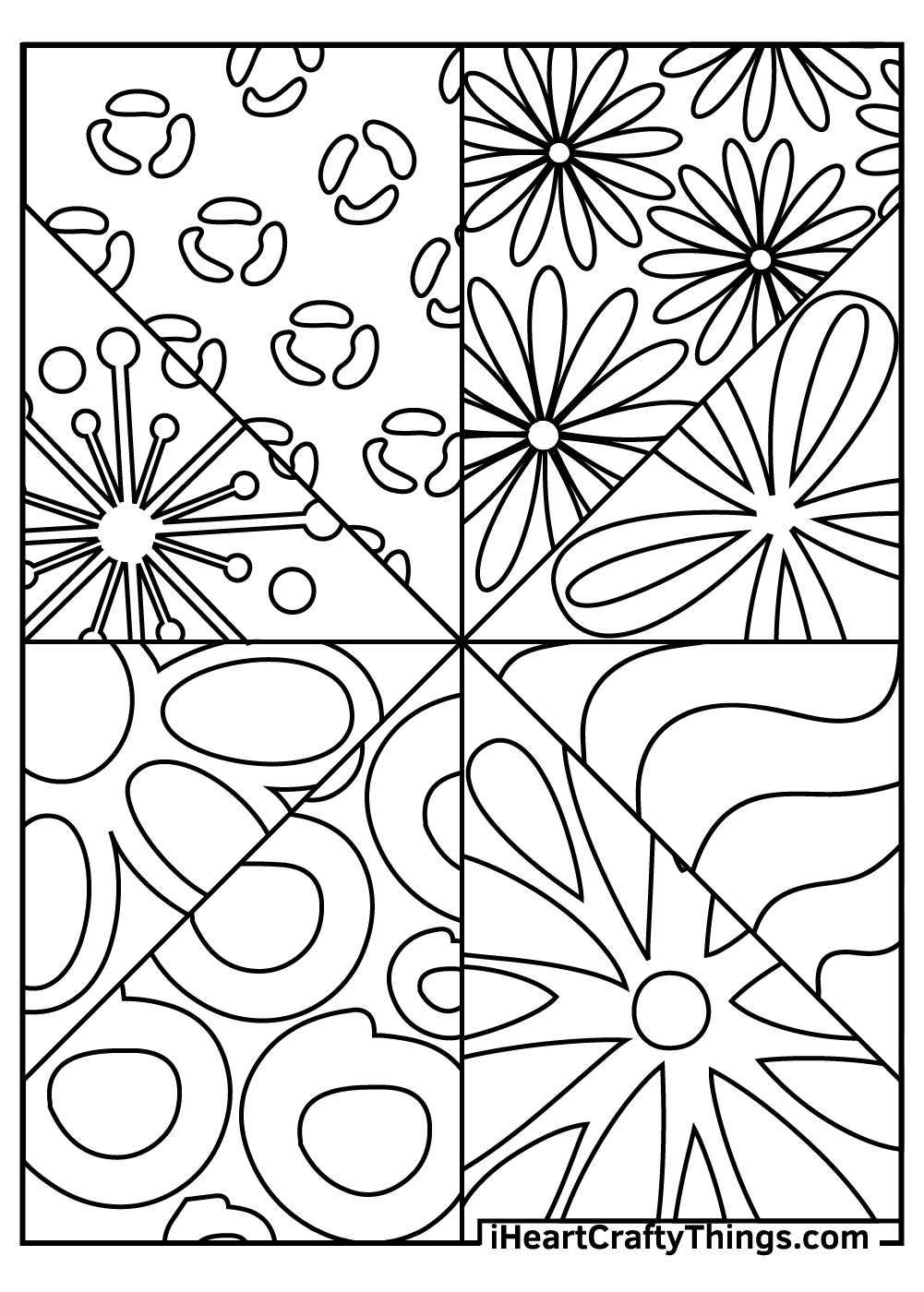 abstract coloring pages for adults free download