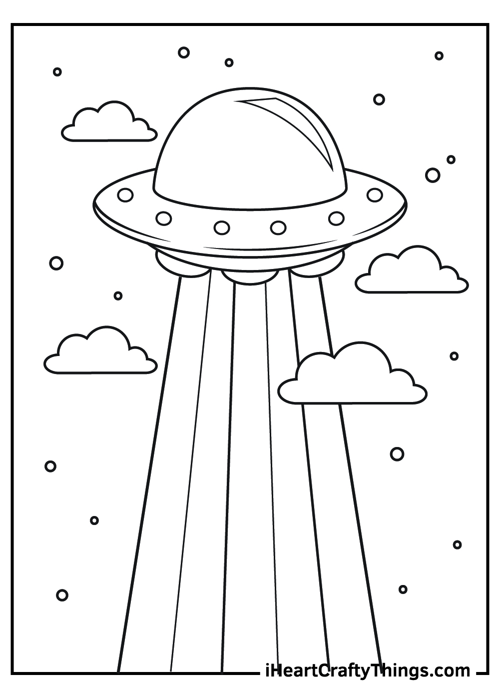 black and white alien coloring pages for preschool