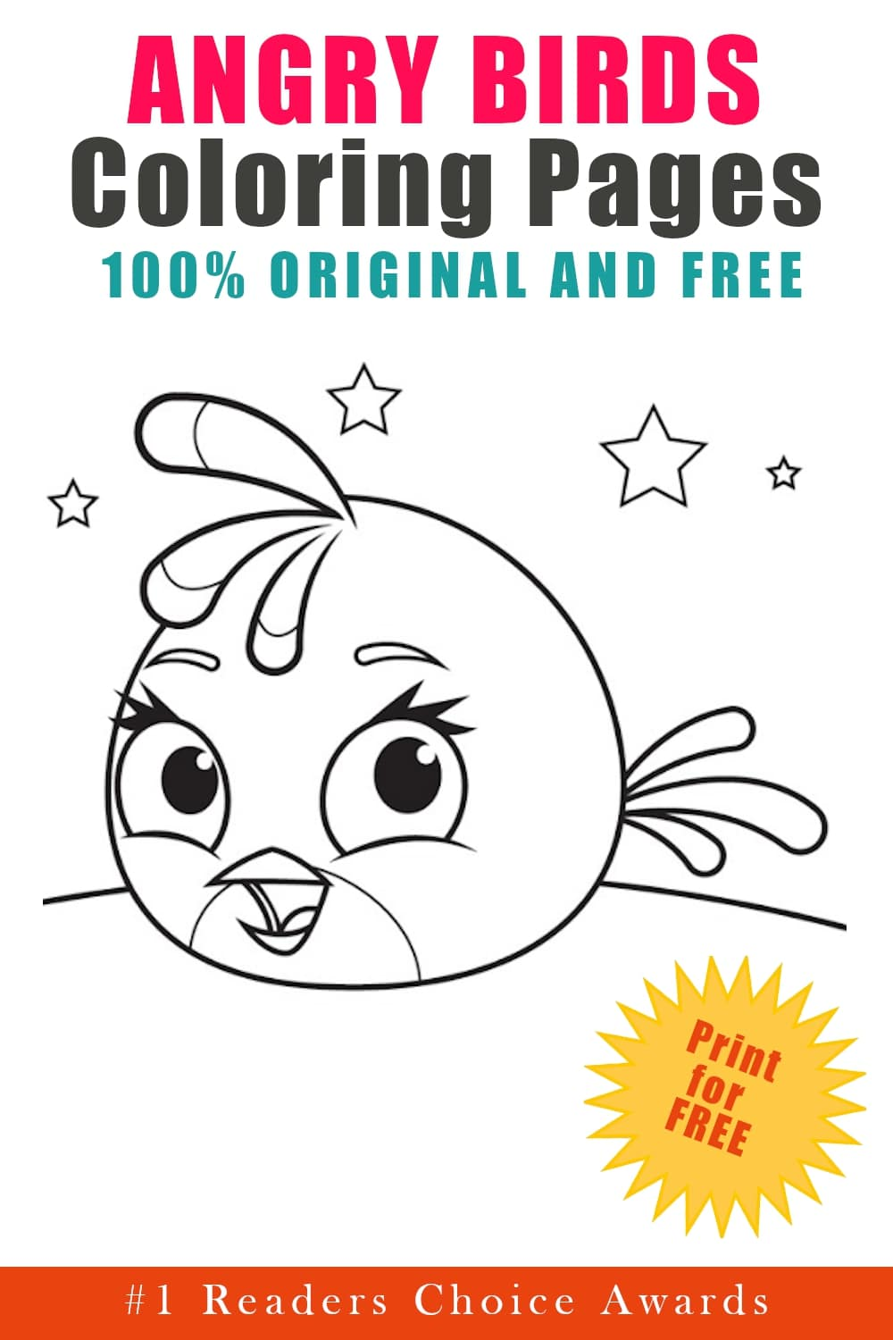 free original angry birds coloring pages