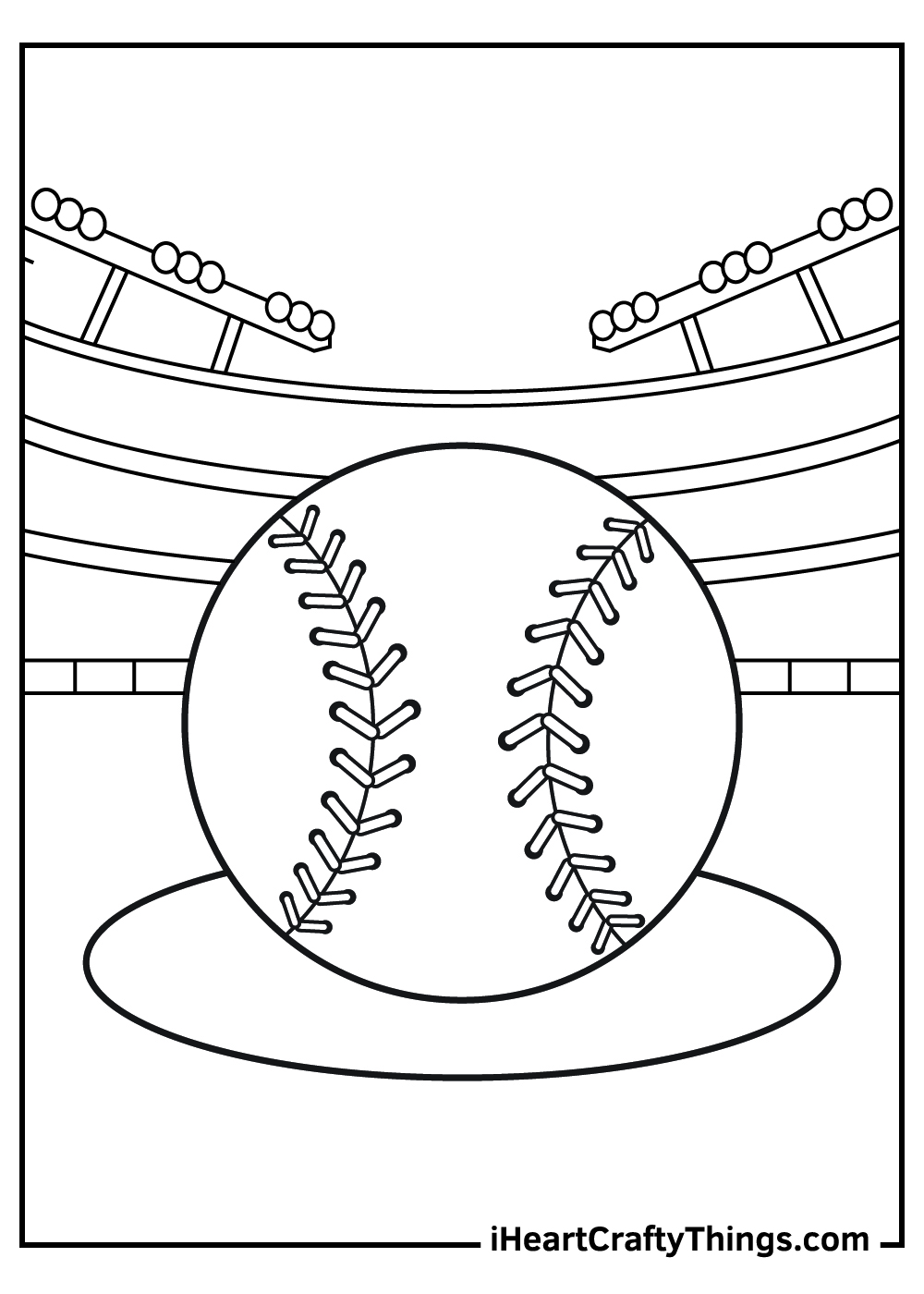 baseball coloring pages for adults