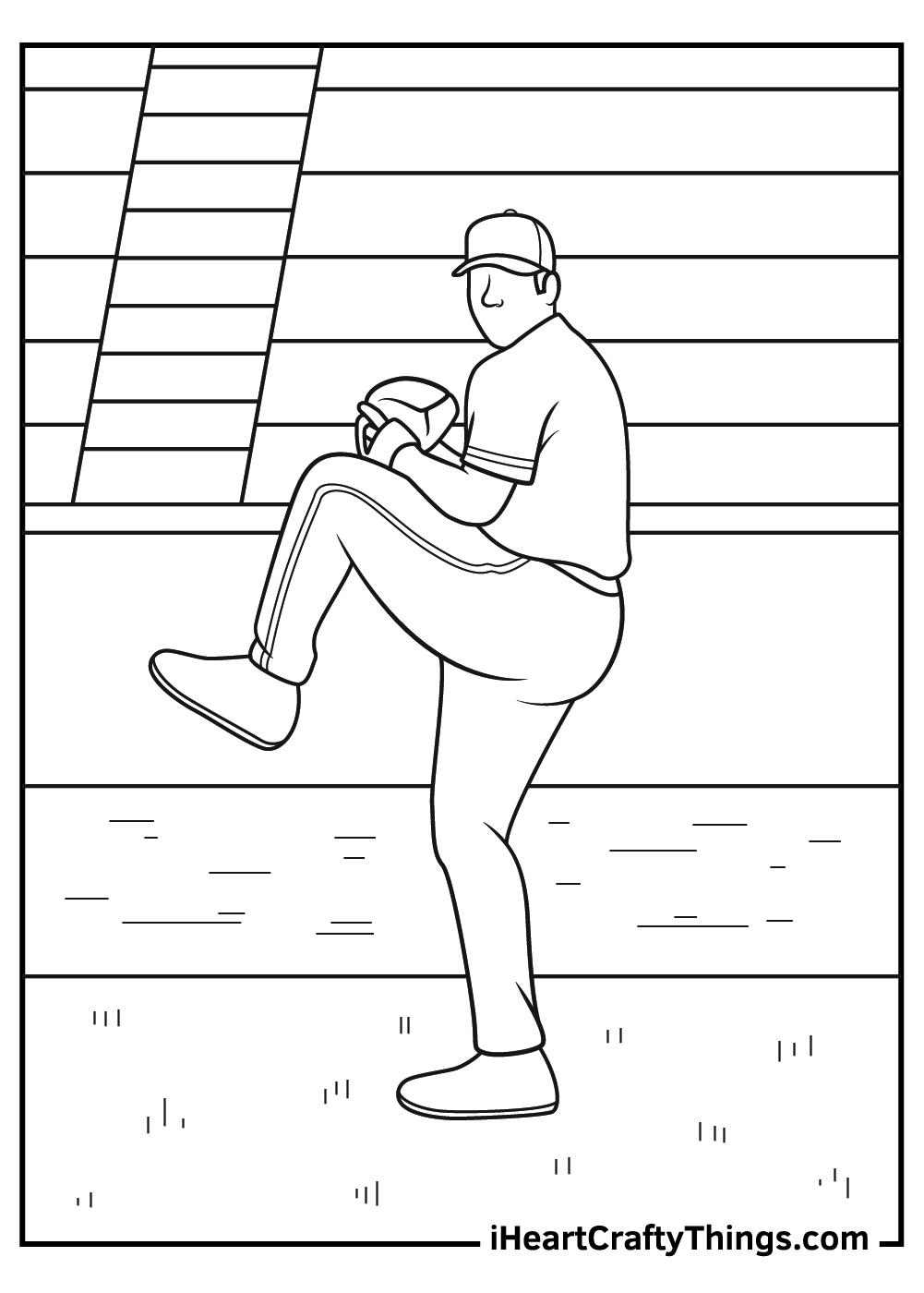 yankee baseball coloring pages